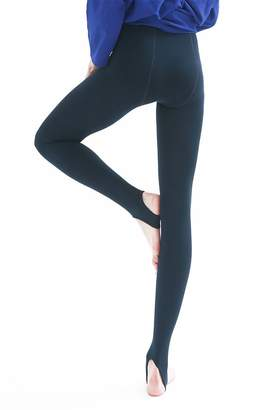 651d3961dc6509 La Dearchuu US Size 2-8 Women Slim Petite Leggings Ladies Fleece Lined  Stirrup Leggings