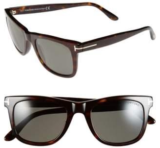Tom Ford 'Leo' 52mm Polarized Sunglasses