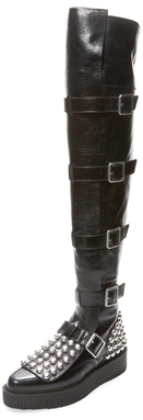 Marlow Show Over The Knee Creeper Boot $1,098 thestylecure.com