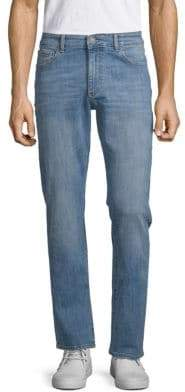 Russel Slim Whiskered Jeans