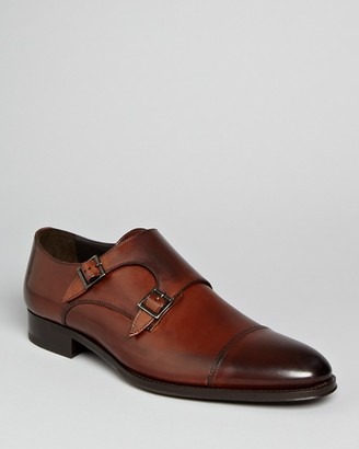 To Boot New York Medford Leather Double Monkstrap Oxfords $395 thestylecure.com