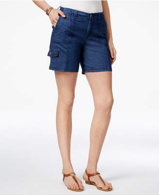 Style&Co. Style & Co Curvy-Fit Comfort-Waist Cargo Shorts