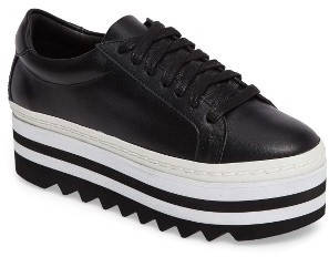 Women's Steve Madden Perry Lugged Platform Sneaker $99.95 thestylecure.com