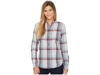 Filson Shelton Banded Collar Shirt Women's Clothing