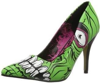 Iron Fist Womens Zombie Stomper Heel Platform