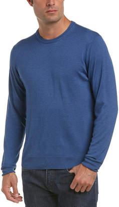 Canali Crewneck Silk & Cashmere-Blend Sweater