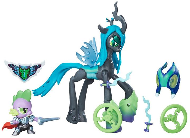 Hasbro My Little Pony Guardians of Harmony Queen Chrysalis v. Spike the Dragon by Hasbro