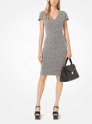 Michael Kors Check Jacquard Dress