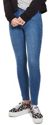 Women's Topshop Joni Raw Hem Skinny Jeans $70 thestylecure.com