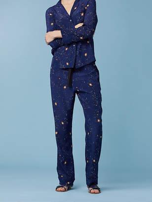 Diane von Furstenberg Wide Leg Zodiac Pajama Pant