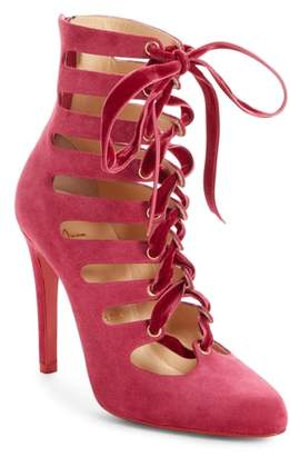 Christian Louboutin Spinetita Cage Lace-Up Bootie