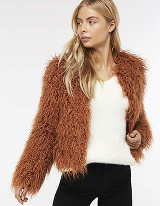 Margaret Short Faux Fur Coat