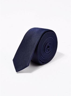 Topman Mens Navy Tie