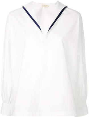 Bellerose sailor collared shirt