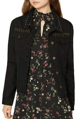 Sanctuary Fierce Fall Studded Denim Jacket