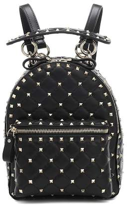 Valentino Rockstud Spike Mini leather backpack