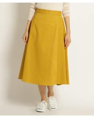 Dessin (デッサン) - Ladies [洗える]ツイル Aライン スカート