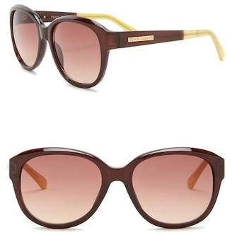Vince Camuto Square Glam 65mm Sunglasses