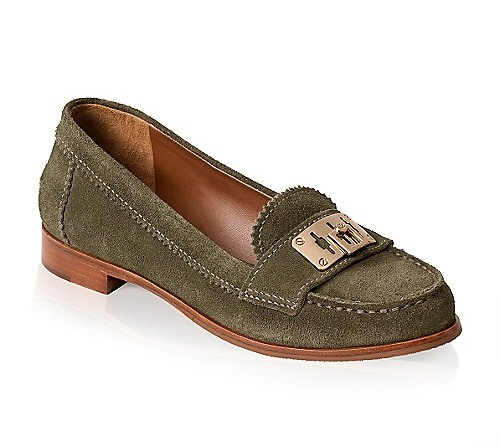 Tory Burch Suede Mona Loafer