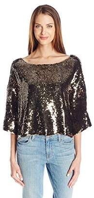 Tracy Reese Women's Sequin Top $270.42 thestylecure.com