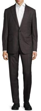 Hugo Boss Solid Wool Suit