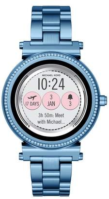 Michael Kors Sofie Touchscreen Bracelet Smart Watch, 42mm