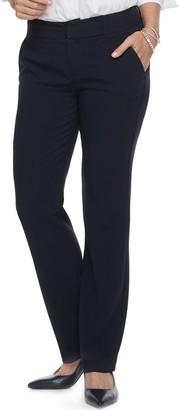 Croft & Barrow Women's Polished Straight-Leg Pants