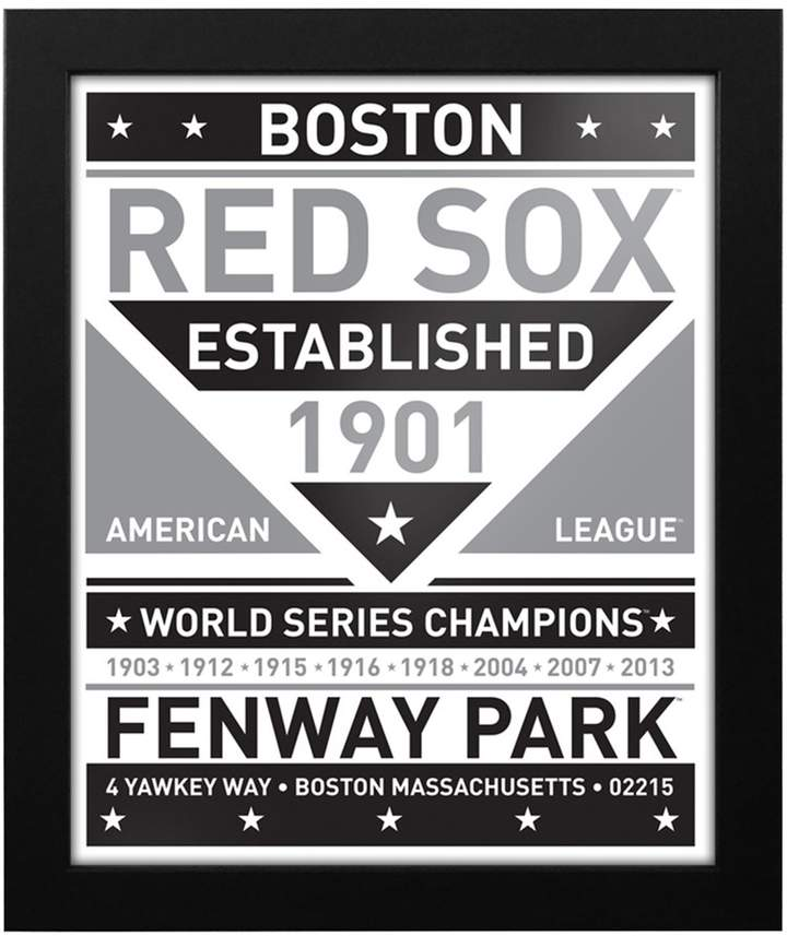 Kohl's Boston Red Sox Black & White Framed Wall Art