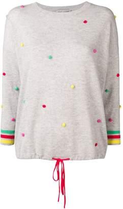 Autumn Cashmere pompom cashmere jumper