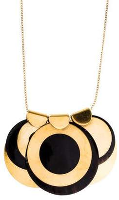 Marni Horn Disc Necklace