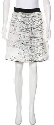 Lida Baday Printed Knee-Length Skirt
