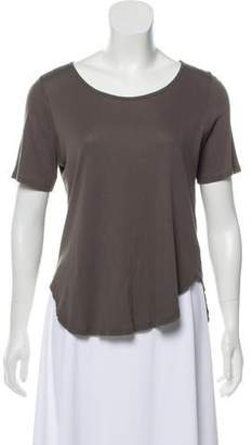 Theyskens' Theory Short Sleeve High-Low Top