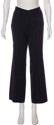 Dolce & Gabbana Striped Wide-Leg Pants