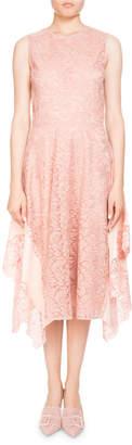 Altuzarra Alana Sleeveless High-Neck Lace Cocktail Dress