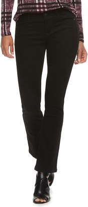 Apt. 9 Petite Tummy Control Midrise Bootcut Jeans