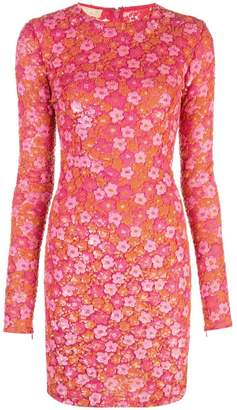 Michael Kors floral embellished dress