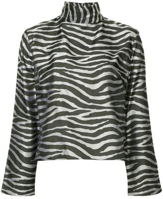 Taller Marmo zebra print blouse