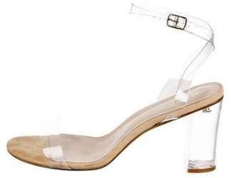 Raye PVC Ankle Strap Sandals