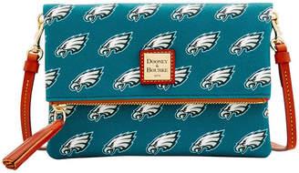 Dooney & Bourke Philadelphia Eagles Foldover Crossbody Purse