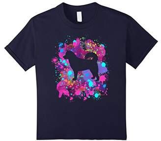 Alaskan Malamute TShirt Graphic Dog Tee Shirt Watercolo
