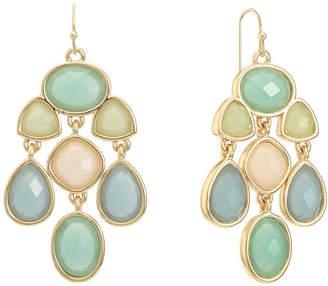 Liz Claiborne Accent Multi Color Chandelier Earrings