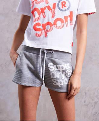 Superdry Sport Diagonal Hot Shorts