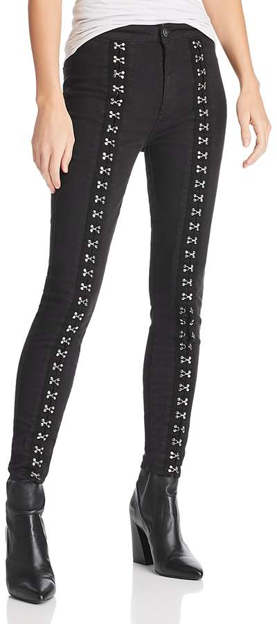 Pistola Kiera High-Rise Hook-and-Eye Skinny Jeans in Hit the Pavement