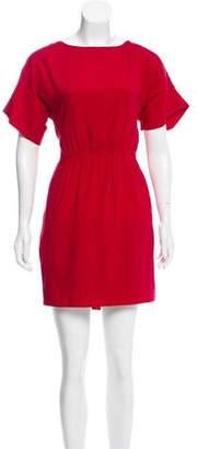 Rag & Bone Short Sleeve Silk Dress