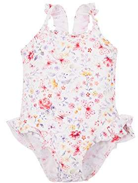 Mothercare Girl's Butterfly Swimsuit,(Manufacturer Size: 128 cms)