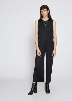 Pleats Please Issey Miyake Sleeveless Back Zip Jumpsuit