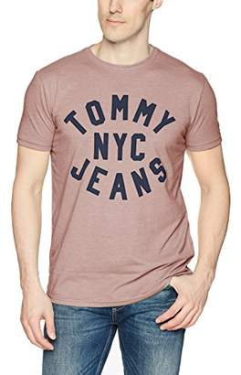 Tommy Hilfiger Tommy Jeans Men's T Shirt Short Sleeve Essential Logo Tee
