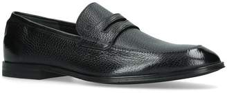 Bally Leather Webb Loafers