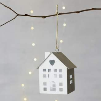 The White Company Little Mountain House Christmas Decoration