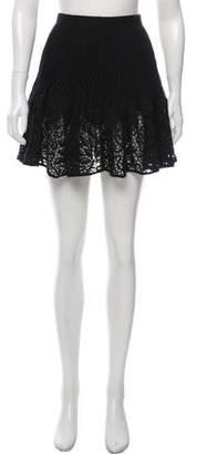 Chloé Crochet Mini Skirt